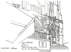 Artist Sketchbooks , Study Resources for Art Students with thanks to gerard michel, CAPI ::: Create Art Portfolio Ideas at milliande.com, Art School Portfolio Work Keeping Sketchbooks, How to Draw Buildings, How to Sketch Architecture, How to Keep a Sketchbook