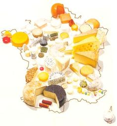 The French love their cheeses!