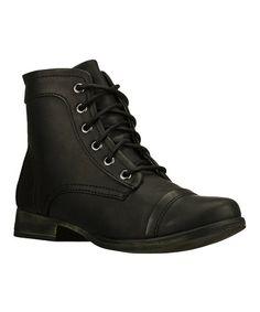 sports shoes 0839b 1d443 Skechers Black Starship Brat Boots