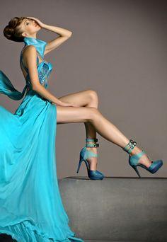 So chique  Blanka Matragi Anniversary Couture Collection. Brigita 7eb2dab921