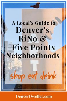 A Shop, Eat, & Drink Local Guide to the indie boutiques, shops, restaurants and bars in Denver's popular RiNo and Five Points neighborhoods. An eclectic, art-filled enclave of cutting-edge restaurants, trendy bars, quirky art galleries, and lofts, RiNo is Denver's current It neighborhood. Much of RiNo falls within Five Points, a cultural historic district steeped in African-American history, heritage and culture. #thingstodoindenver #denvershops #denverrestaurants #denverbars…