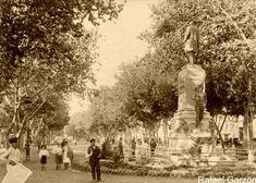Malaga antigua Old photograph Paseo de la Alameda,fotos, old, century, photos, nineteenth, xix, siglo