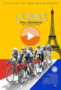 New Zealand International Film Festival 2016 - #nziff Le Ride with Phil Keoghan