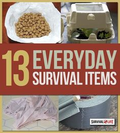 13 Everyday Items For Survival