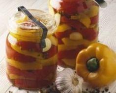 Poivrons confits - Une recette CuisineAZ