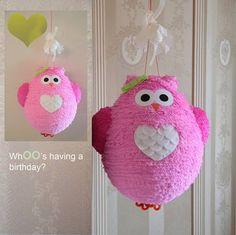 Bellas piñatas artesanales para fiestas de cumpleaños infantiles