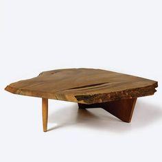 conoid coffee table. george nakashima.