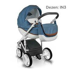 Bexa B4X IDEAL NEW kolica za bebe, set 2u1, dezen IN3