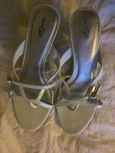 33d3a9c01e5 White East 5th St Women s Sandals Size 9  East5th  Slides