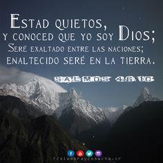 SALMO 46:10 http://siembracr.wixsite.com/siembracr