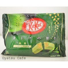 Green Tea (Maccha) Kit Kat (12 Mini Bars) - Only $6.99!