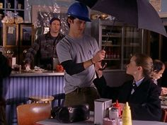 He was Rory's knight in shining hard hat when the diner was under repair. | 19 Reasons Jess Was The Perfect Match For Rory