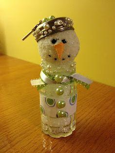 Salt Shaker Snowman | Cherished Handmade Treasures