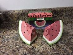 Watermelon Treats Ceramic Salt & Pepper Set Bitten Watermelon Slice Clearance $$  | eBay