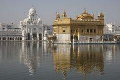 The Harmandir Sahib (Golden Temple) in Amritsar (Punjab - India)