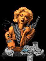 Marilyn Monroe Gangster