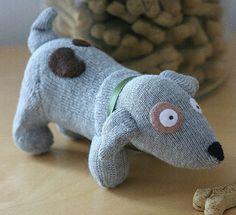 tucker the sock dog puppy by allthingssmall, via Flickr