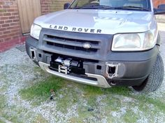 Freelander winch and mounting finally bolted in place Winch Mounting Plate, Land Rover Freelander, Random Stuff, Wheels, Vehicles, Cars, Random Things, General Goods, Vehicle