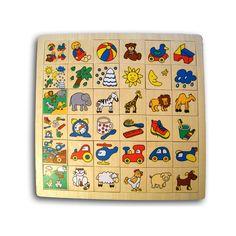 Houten puzzelspel