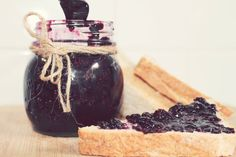 Blueberry Jam with Chia Seeds
