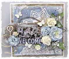 Cards made by Chantal: Welcome home!