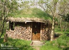 $150 Natural Built Cordwood Round House.....................................................................Perfect.