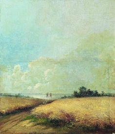 'Summer' - Aleksey Savrasov (1830-1897)