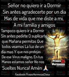 Holy Spirit Prayer, God Prayer, Prayer Quotes, Morning Love Quotes, Good Morning Love, Night Quotes, Catholic Prayers In Spanish, Text Messages Love, Good Night Prayer