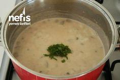 Harika Kremalı Mantar Çorbası (videolu) - Nefis Yemek Tarifleri Cheeseburger Chowder, Soup, Fit, Shape, Soups