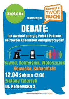 Debata Zieloni - Europa Plus Twój Ruch