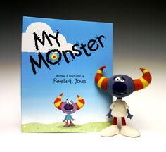 """My Monster"" with my monster by Terry Sei."
