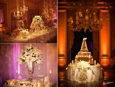 All white wedding -- stunning!