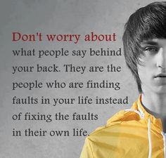 Pointless to worry ... focus on how you want to live your life and don't worry about what others will think!