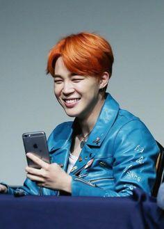 Resultado de imagen para imagenes de jimin con el pelo naranja