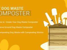 DIY Dog Waste Composter Meds For Dogs, Plastic Drums, Dog Nails, Edible Plants, Diy Dog, Biodegradable Products, Baking, Pets, Bakken