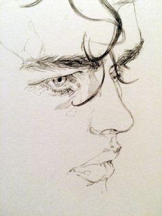 Pencil Portrait Mastery - adria / mercuri - Discover The Secrets Of Drawing Real. - Pencil Portrait Mastery – adria / mercuri – Discover The Secrets Of Drawing Realistic Pencil Po - Pencil Portrait Drawing, Portrait Sketches, Pencil Art, Drawing Sketches, Pencil Drawings, Painting & Drawing, Art Drawings, Drawing Portraits, Sketching