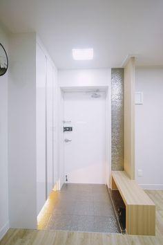 24평 아파트 거실 서재 인테리어, 아이들의 독서공간 꾸미기 _ 이사 전후 : 네이버 블로그