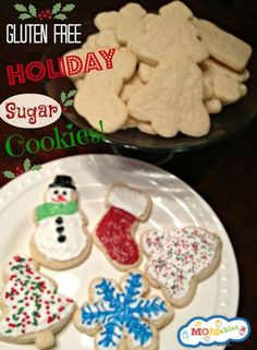 Gluten Free sugar cookie recipe MOMables.com