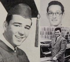 """Remembering the Pioneers of Rock 'n' Roll: (Left) J.P. """"The Big Bopper"""" Richardson, (Top Right) Buddy Holly, (Bottom Right) Ritchie Valens"""