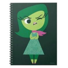 This Disgust notebook is just one of many offered at Zazzle. Every character has his or her own notebook. These Disney Inside Out back to school supplies will be in high demand this season!