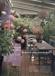 veranda by Mme Zsazsa, via Flickr