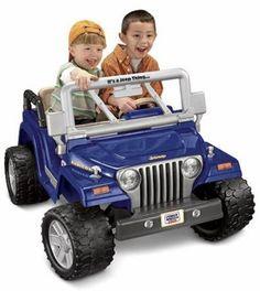 Power Wheels Jeep Wrangler Rubicon. Hot Christmas Gifts: Best Toys for Boys Age 6, 7, 8 & 9 — Kathln.com