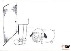 Calming signals in dogs art 5