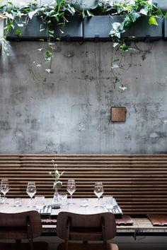 Vakst restaurant Copenhagen outdoor bench ChrisTonnesen