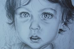 Retrato en grafito de Judith Grettell Figueroa