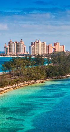 Atlantis Resort on Paradise Island in Nassau, Bahamas