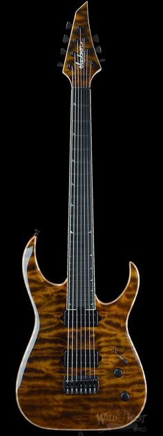 Jackson Misha Mansoor Juggernaut HT7 Tiger Eye - Wild West Guitars