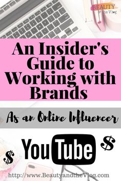 How to work with brands as an online influencer. Beauty and the Vlog podcast featuring Nurberxo and focusing on YouTube and how to have a YouTube channel.