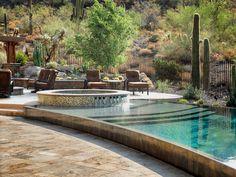 Landscape/pool designer Kirk Bianchi Design, Phoenix, AZ.