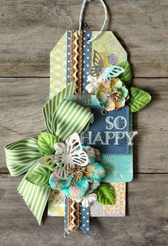 Crafting ideas from Sizzix UK: Prima Blog Switch - Day 5 with Cari Fennell using @Sizzix dies in the Prima Flora Grande release! #sizzix #prima #dies #tags